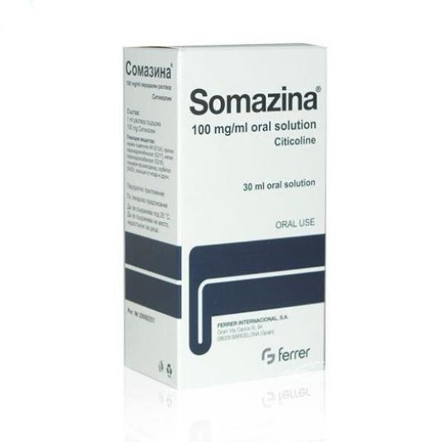 Thuốc Somazina 1000mg Citicolin điều trị các rối loạn nhận thức, cảm giác, vận động và tâm thần kinh