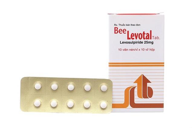 Thuốc Beelevotal 25mg Levosulpiride làm giảm các triệu chứng khó tiêu