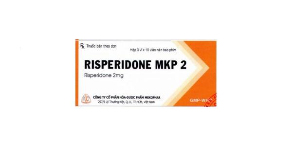 Thuốc Risperidone MKP 2 điều trị bệnh loạn tâm thần cấp và mạn