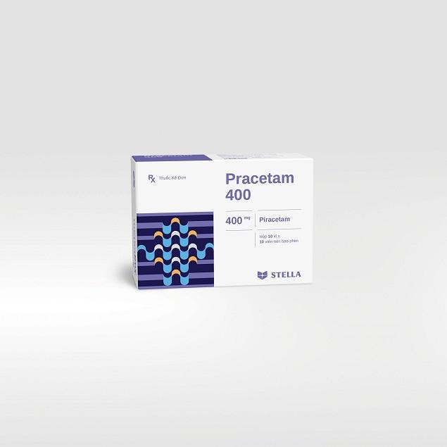 Thuốc Pracetam 400 cải thiện hiệu lực của não