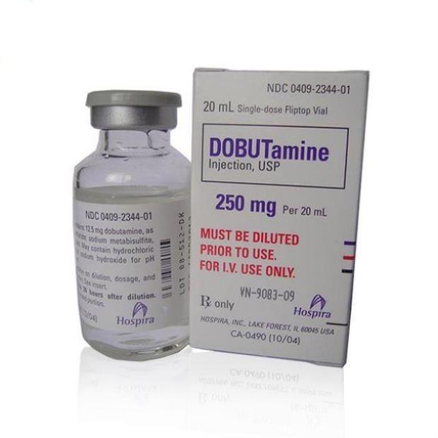 Thuốc Dobutamin tăng co bóp cơ tim