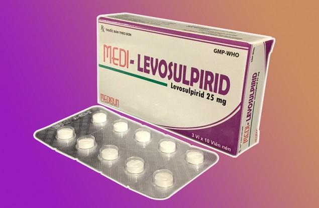 Thuốc Numed levo 25mg Levosulpirid làm giảm các triệu chứng khó tiêu chức năng