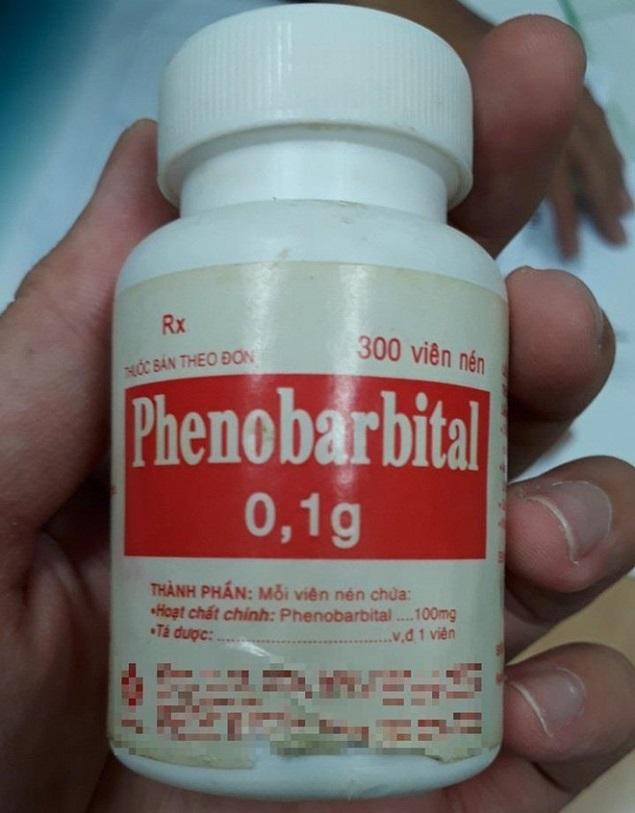 Thuốc Phenobarbital 0,1g chống co giật, trị động kinh, cơn co uốn ván