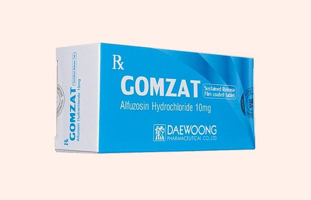 Thuốc Gomzat 10mg Alfuzosin HCl điều trị triệu chứng của bướu lành tiền liệt tuyến
