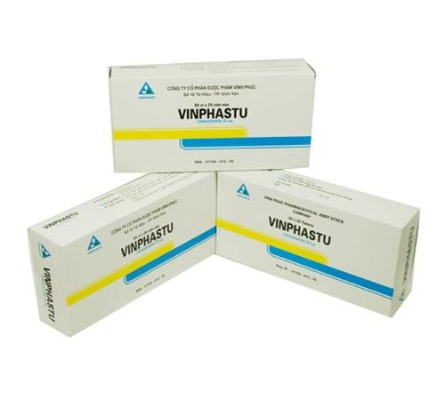 Thuốc Vinphastu 25mg Cinnarizin chữa trị chứng say tàu xe, chứng đau nửa đầu