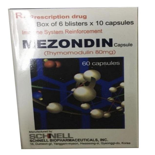 Thuốc Mezondin 80mg Thymomodulin hỗ trợ điều trị các bệnh nhiễm trùng