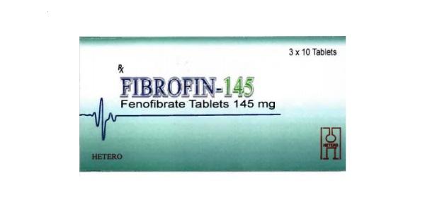 Thuốc Fibrofin-145 145mg Fenofibrate điều trị tăng Cholesterol máu nguyên phát