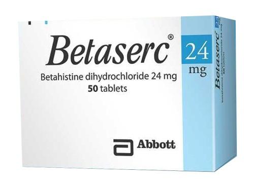 Thuốc Be-Stedy 24 24mg Betahistine dihydrochlorid điều trị chứng chóng mặt do rối loạn tiền đình, hội chứng Meniere
