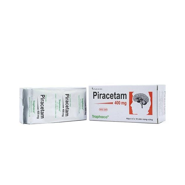 Thuốc Hasancetam 400mg Piracetam điều trị bệnh do tổn thương não