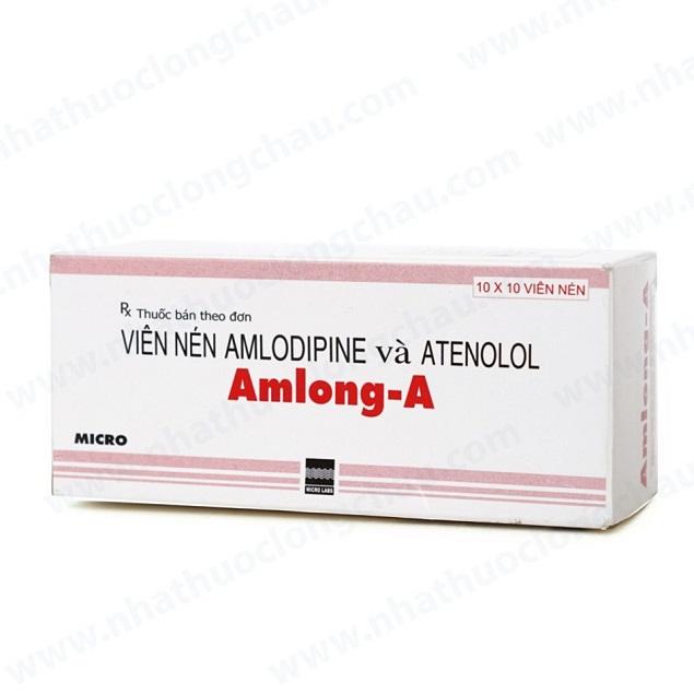 Thuốc Amlong-A điều trị tăng huyết áp