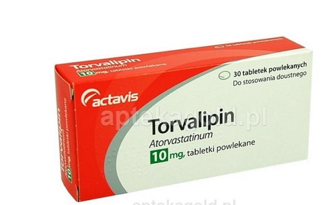 Thuốc Torvalipin 10mg Atorvastatin hạ mỡ máu