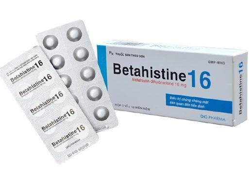 Thuốc Betahistine-US 16mg điều trị hội chứng Meniere