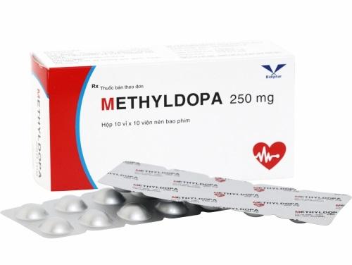 Thuốc Methyldopa 250mg điều trị tăng huyết áp