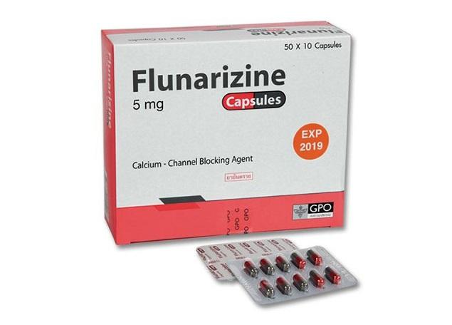 Thuốc Flunarizin dự phòng và điều trị chứng đau nửa đầu