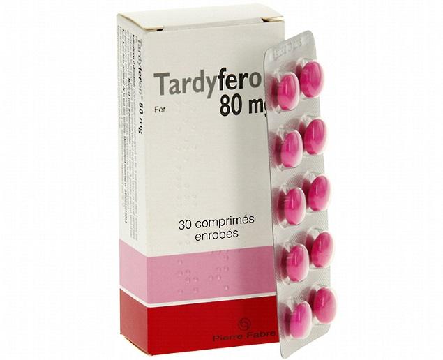 Thuốc Tardyferon 80 điều trị thiếu máu do thiếu sắt