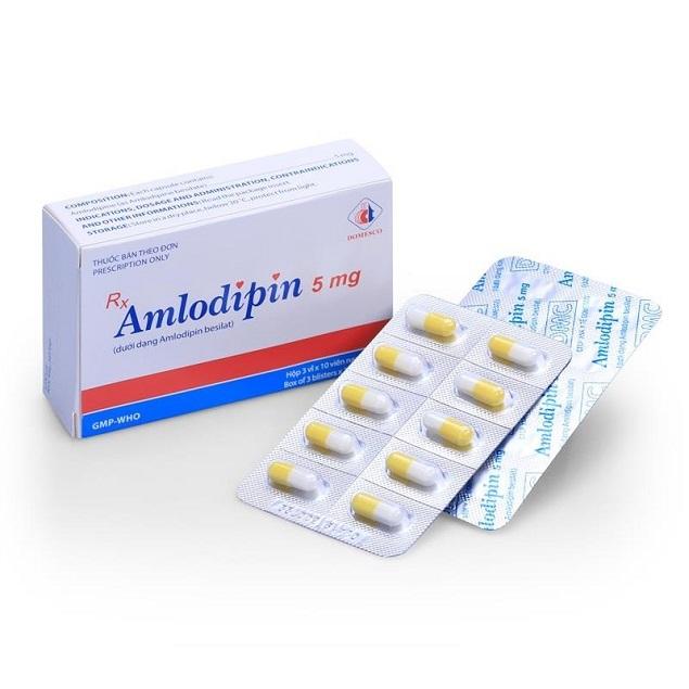 Thuốc Amnorpyn 5mg Amlodipin besilate điều trị cao huyết áp