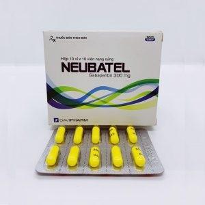 Thuốc Neubatel-forte 600mg Gabapentin điều trị động kinh