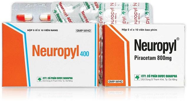 Thuốc Neuropyl 400mg Piracetam điều trị triệu chứng chóng mặt