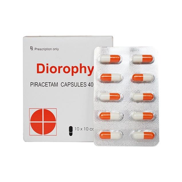 Thuốc Diorophyl 400mg Piracetam điều trị triệu chứng chóng mặt
