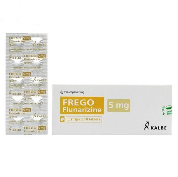 Thuốc Frego 5mg Flunarizin dự phòng và điều trị chứng đau nửa đầu