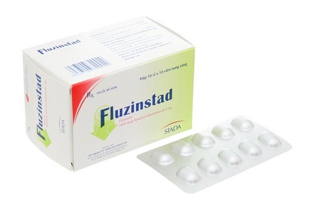 Thuốc Fluzinstad 5mg Flunarizin dự phòng và điều trị chứng đau nửa đầu