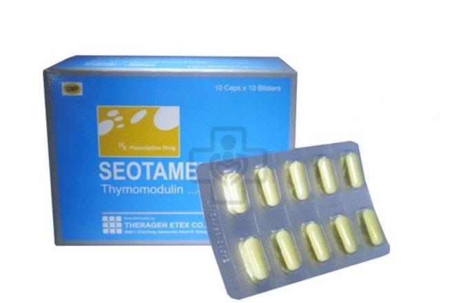 Thuốc Seotamex 80mg Thymomodulin hỗ trợ điều trị các bệnh nhiễm trùng