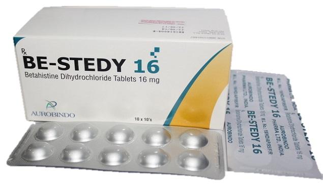 Thuốc Be-Stedy 16 16mg Betahistine dihydrochlorid điều trị triệu chứng chóng mặt tiền đình