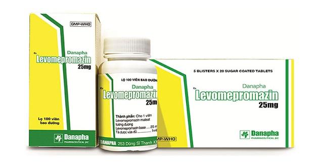 Thuốc Levomepromazin 25mg điều trị các thể tâm thần phân liệt