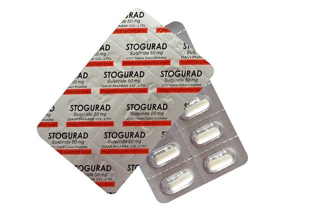 Thuốc Stogurad 50mg Sulpirid điều trị ngắn hạn các triệu chứng lo âu