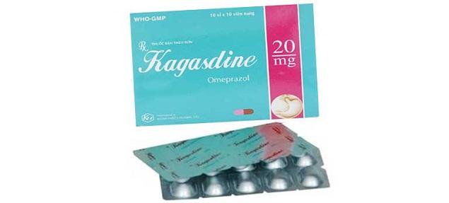Thuốc Kagasdine 20mg Omeprazol điều trị chứng trào ngược dạ dày