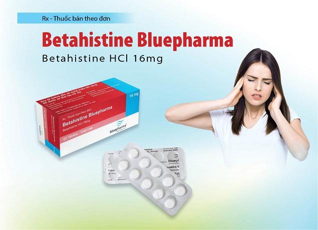Thuốc Betahistine Bluepharma điều trị chóng mặt, ù tai và giảm thính lực liên quan tới hội chứng Meniere