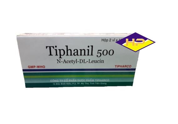 Thuốc Tiphanil 500 điều trị chứng chóng mặt