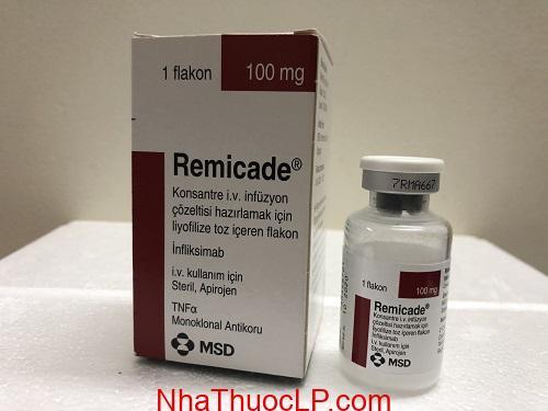 Thuốc Remicade 100mg Infliximab điều trị viêm khớp, vẩy nến, viêm loét đại tràng (3)