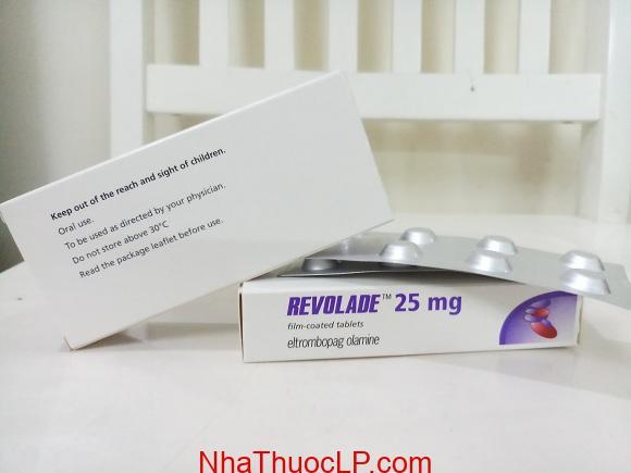 Thuốc Revolade 25mg Eltrombopag điều trị giảm tiểu cầu (3)