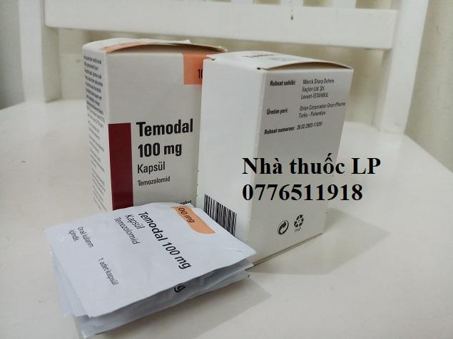 Thuốc Temodal 100mg Temozolomide điều trị ung thư não (4)