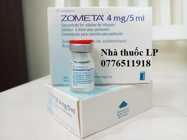 Thuốc Zometa 4mg/5ml Axit Zoledronic điều trị ung thư tủy xương (3)