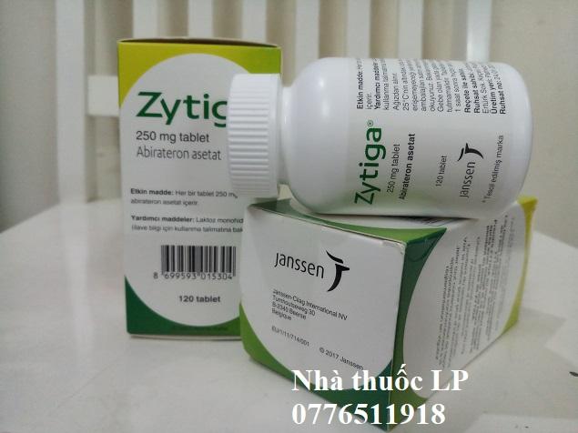 Thuốc Zytiga 250mg Abiraterone điều trị ung thư tiền liệt tuyến (3)