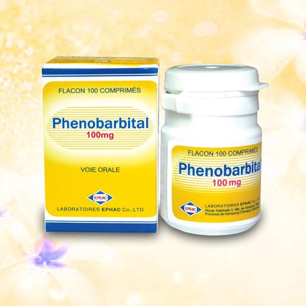 Thuốc Phenobarbital 100mg chống co giật, trị động kinh