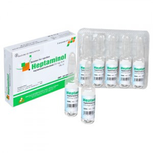 Thuốc Heptaminol-313mg phòng bệnh tim mạch