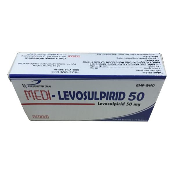 Thuốc Medi Levosulpirid 50 làm giảm các triệu chứng khó tiêu chức năng