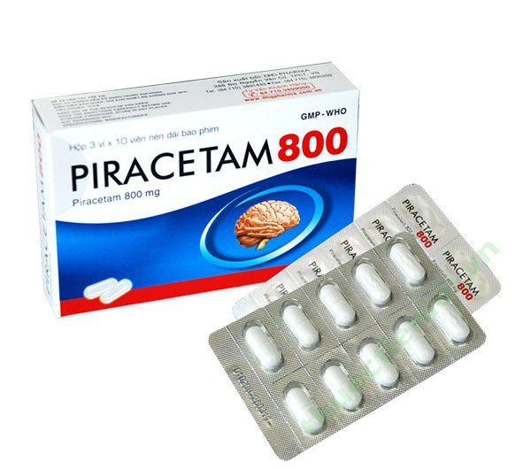 Thuốc Utrupin 800mg Piracetam điều trị triệu chứng chóng mặt