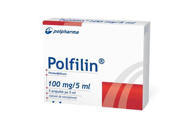 Thuốc Polfilin 2% Pentoxifylline điều trị thiếu máu não thoảng qua