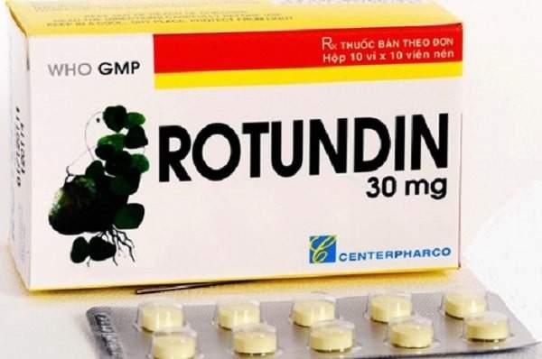 Thuốc Rotundin 30mg an thần, trị mất ngủ