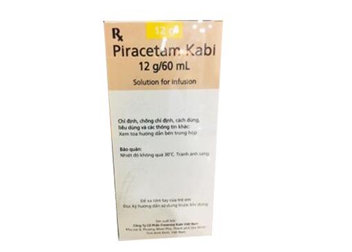 Thuốc Piracetam Kabi điều trị thiếu máu cục bộ cấp, thiếu máu hồng cầu liềm, triệu chứng chóng mặt