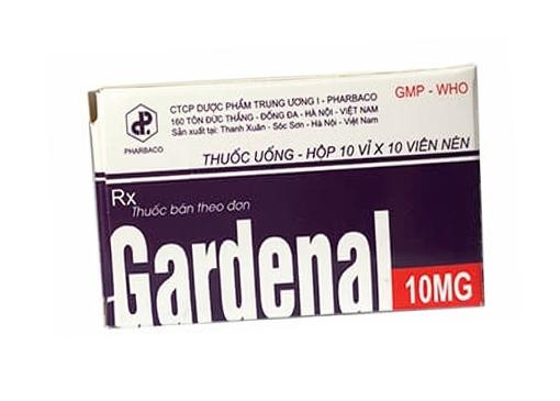 Thuốc Garnotal 10mg Phenobarbital thuốc chống co giật, trị động kinh
