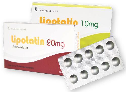 Thuốc Lipotatin 20mg Atorvastatin giảm cholesterol toàn phần