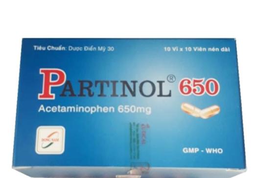 Partinol 650 mg