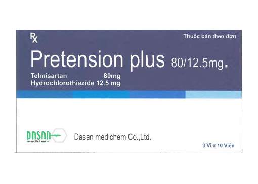 Pretension Plus 80/12.5mg