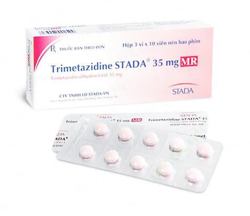 Thuốc Petrimet MR 35mg Trimetazidin HCl điều trị dự phòng các cơn đau thắt ngực