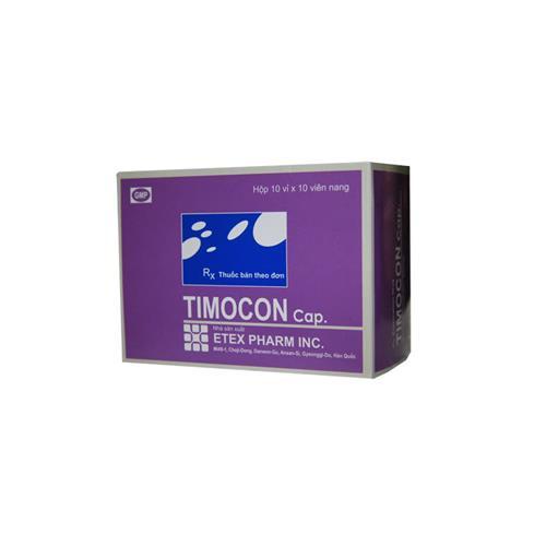 Thuốc Timocon Capsule 80mg Thymomodulin hỗ trợ điều trị nhiễm trùng